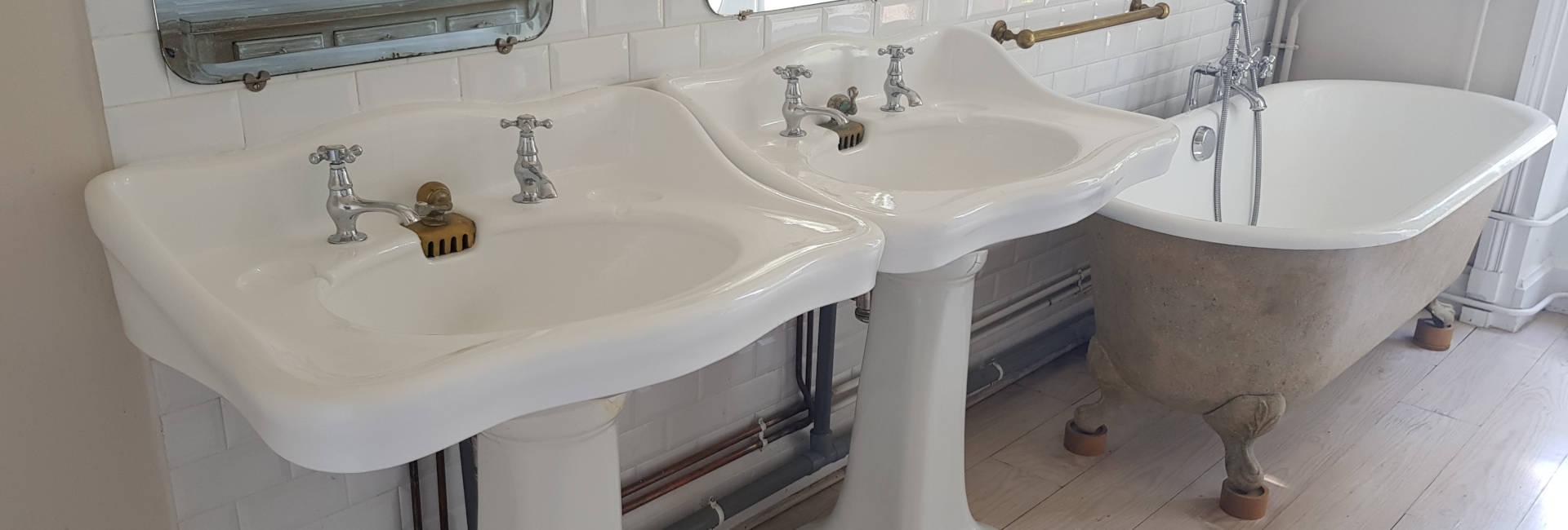 Réémaillage baignoire et lavabos